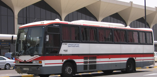 Dubai Airport bus